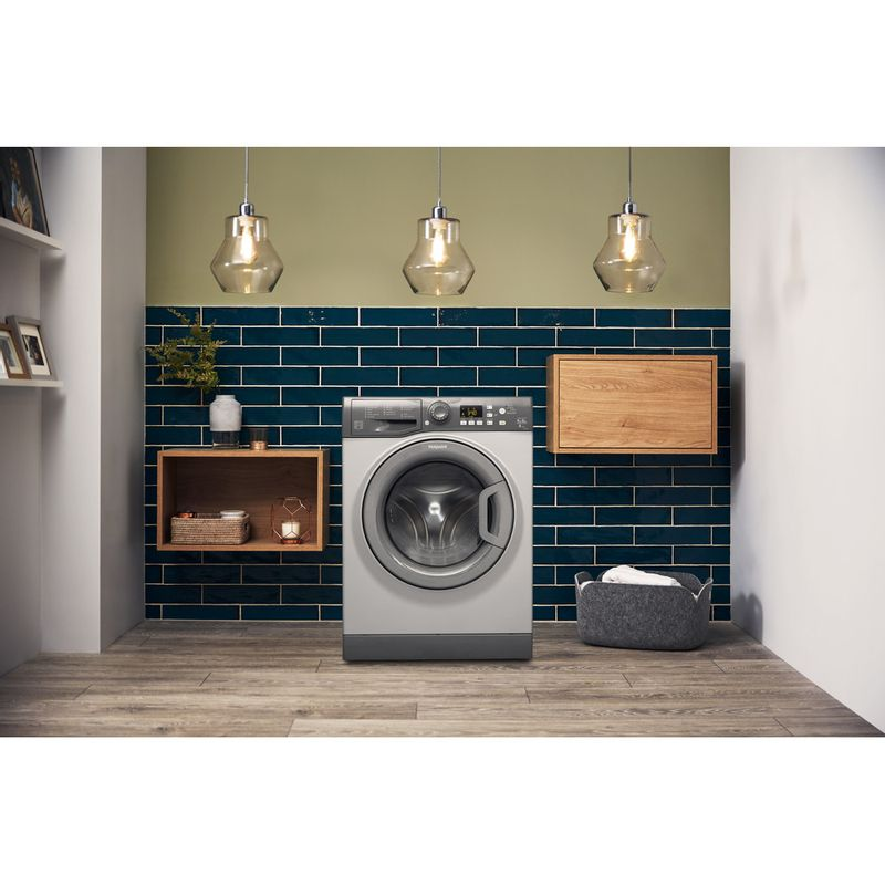 Hotpoint-Washer-dryer-Free-standing-FDF-9640-P-UK-White-Front-loader-Lifestyle-frontal