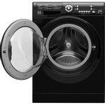 Hotpoint-Washer-dryer-Free-standing-FDF-9640-K-UK-Black-Front-loader-Frontal_Open
