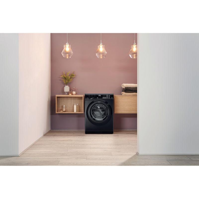 Hotpoint-Washer-dryer-Free-standing-FDF-9640-K-UK-Black-Front-loader-Lifestyle_Frontal