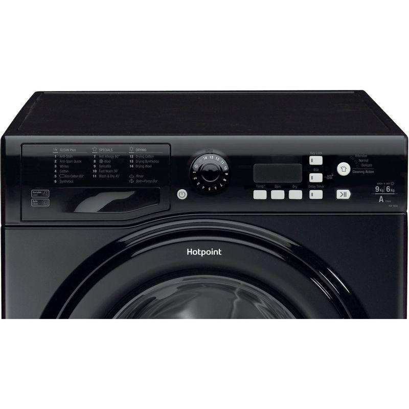 Hotpoint-Washer-dryer-Free-standing-FDF-9640-K-UK-Black-Front-loader-Control_Panel