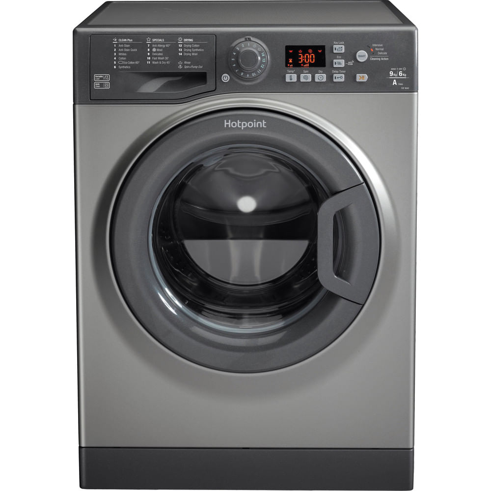 Hotpoint Freestanding Washer Dryer FDF 9640 G UK : discover the specifications of our home appliances and bring the innovation into your house and family.