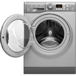 Hotpoint-Washer-dryer-Free-standing-FDF-9640-G-UK-Graphite-Front-loader-Frontal_Open