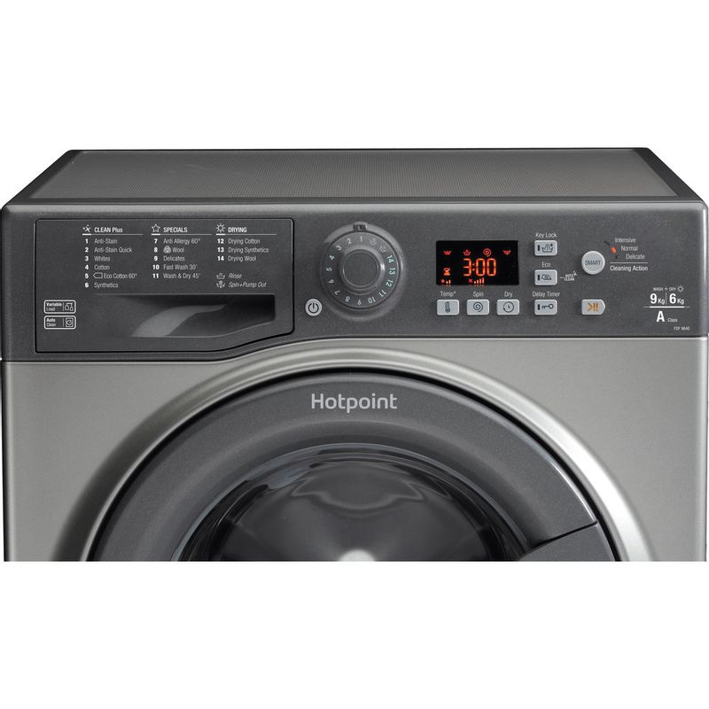 Hotpoint-Washer-dryer-Free-standing-FDF-9640-G-UK-Graphite-Front-loader-Control_Panel