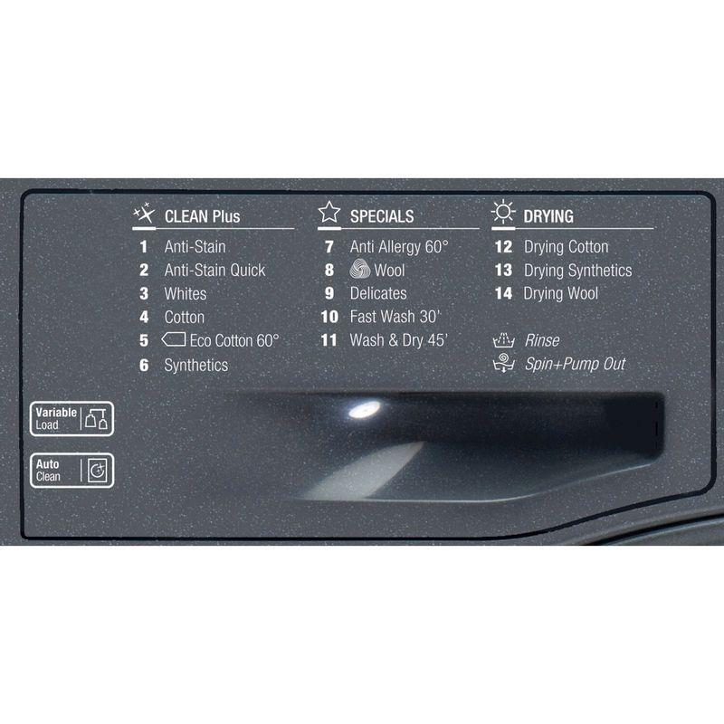 Hotpoint-Washer-dryer-Free-standing-FDL-9640-G-UK-Graphite-Front-loader-Program