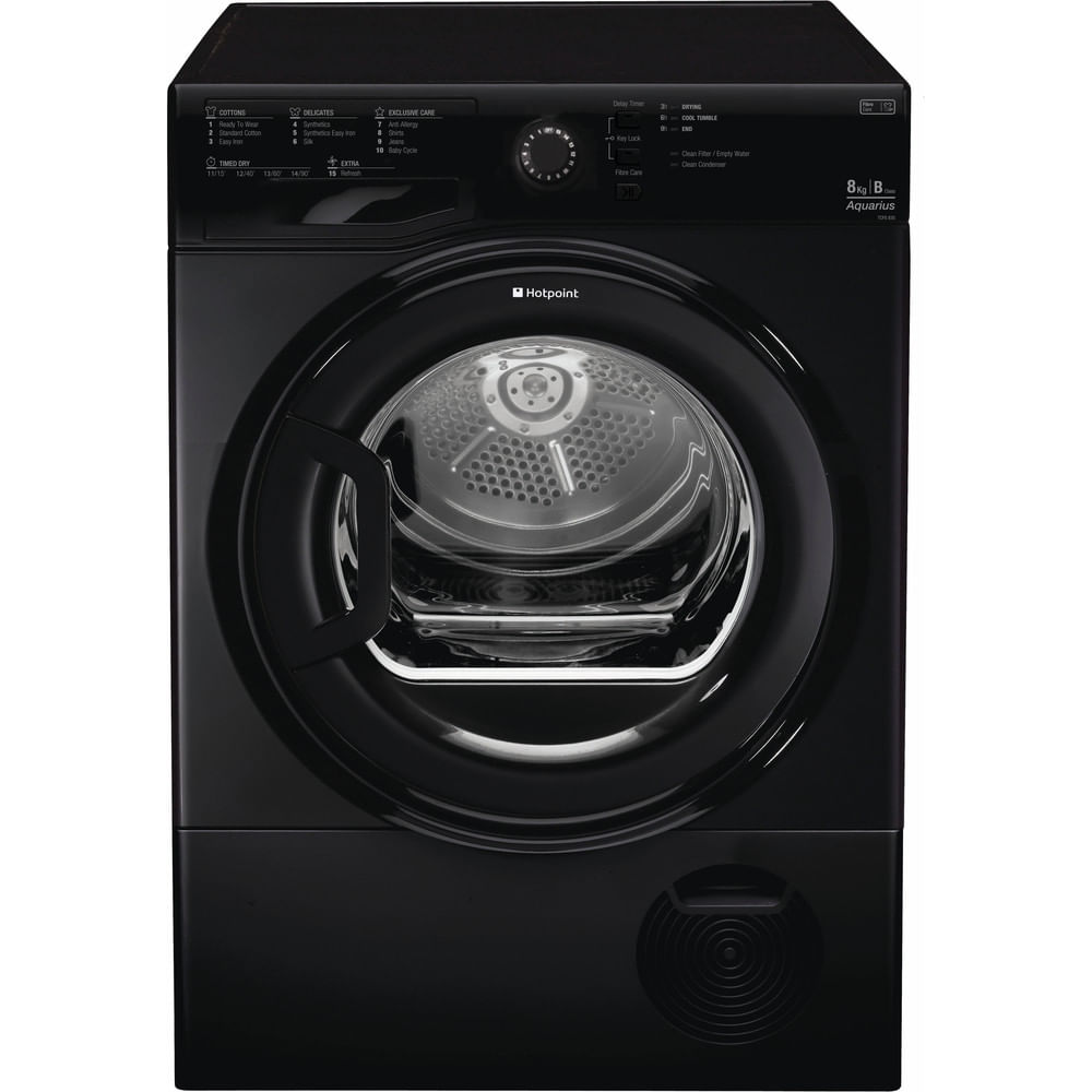 Hotpoint Freestanding tumble dryer TCFS 835B GK UK : discover the specifications of our home appliances and bring the innovation into your house and family.