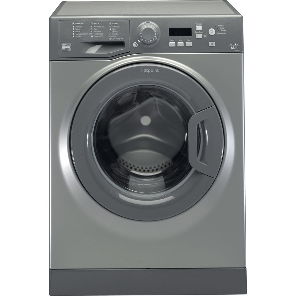 Hotpoint Freestanding Washing Machine WMEUF 743G UK : discover the specifications of our home appliances and bring the innovation into your house and family.