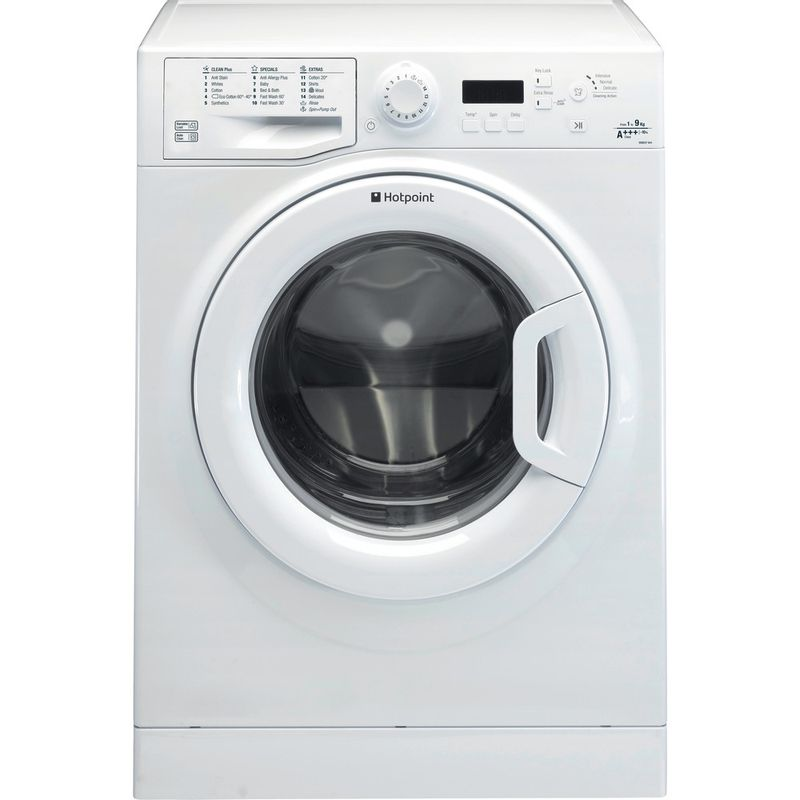 Hotpoint-Washing-machine-Free-standing-WMEUF-944P-UK-White-Front-loader-A----Frontal