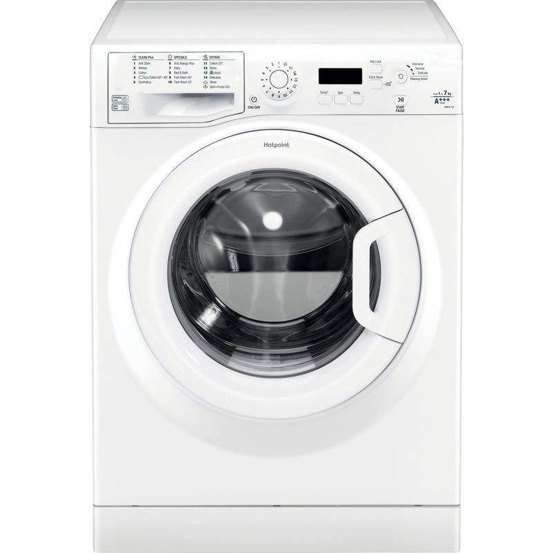 Hotpoint-Washing-machine-Free-standing-WMEUF-743P-UK-White-Front-loader-A----Frontal