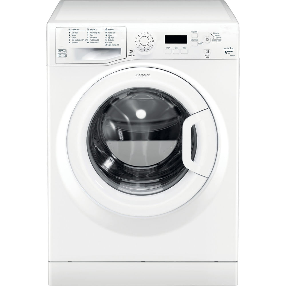 Hotpoint Freestanding Washing Machine WMEUF 743P UK : discover the specifications of our home appliances and bring the innovation into your house and family.