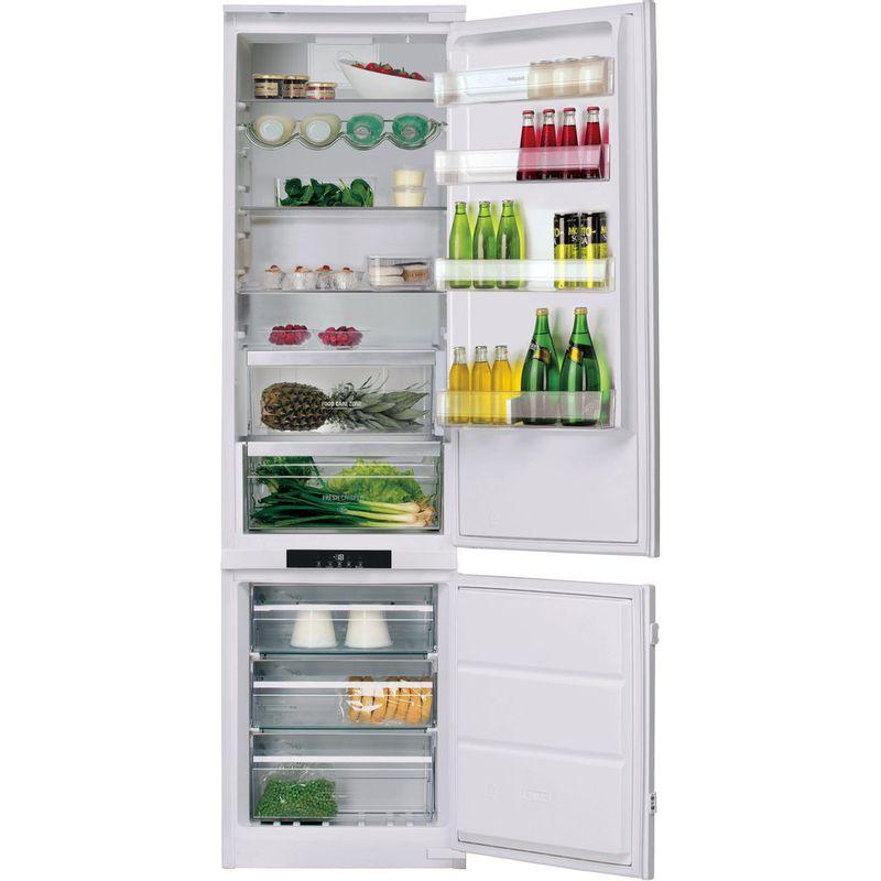 Hotpoint-Fridge-Freezer-Built-in-BCB-8020-AA-F-C-White-2-doors-Frontal-open