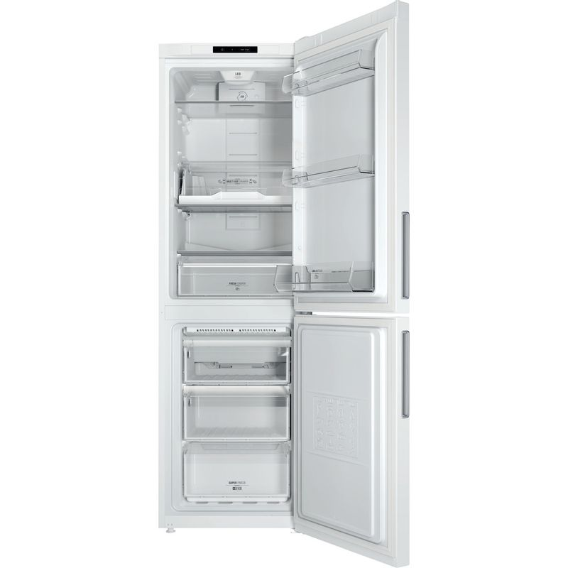 Hotpoint-Fridge-Freezer-Free-standing-LAO8-FF1I-W-White-2-doors-Frontal_Open