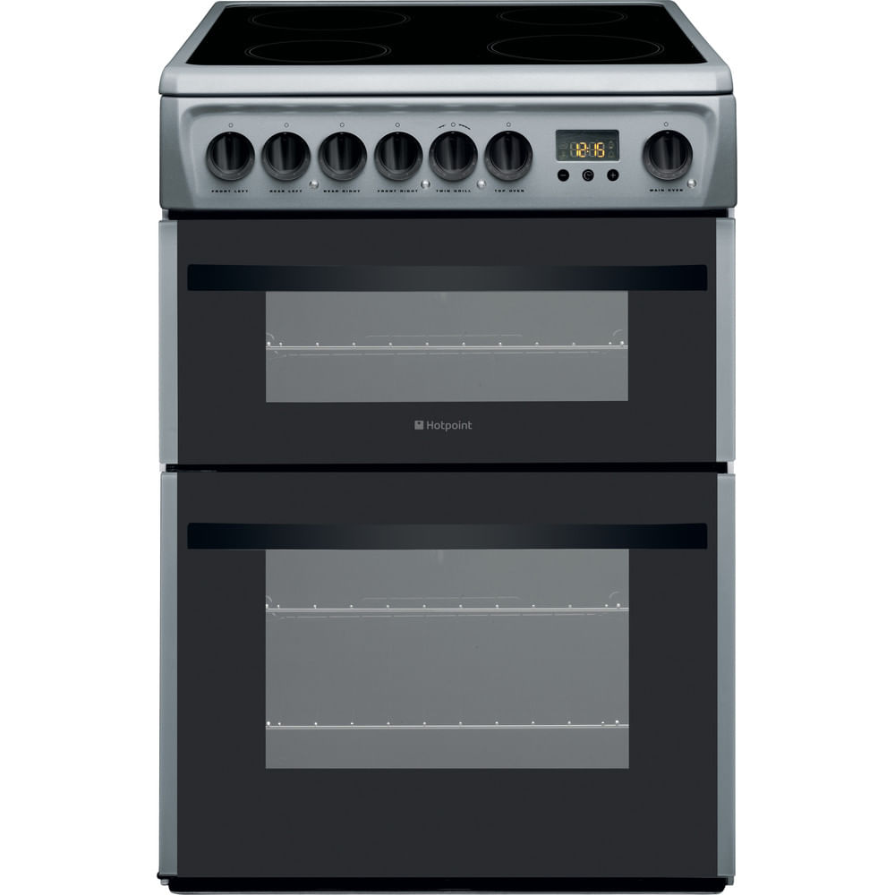 Hotpoint Double Cooker DCN60S : discover the specifications of our home appliances and bring the innovation into your house and family.