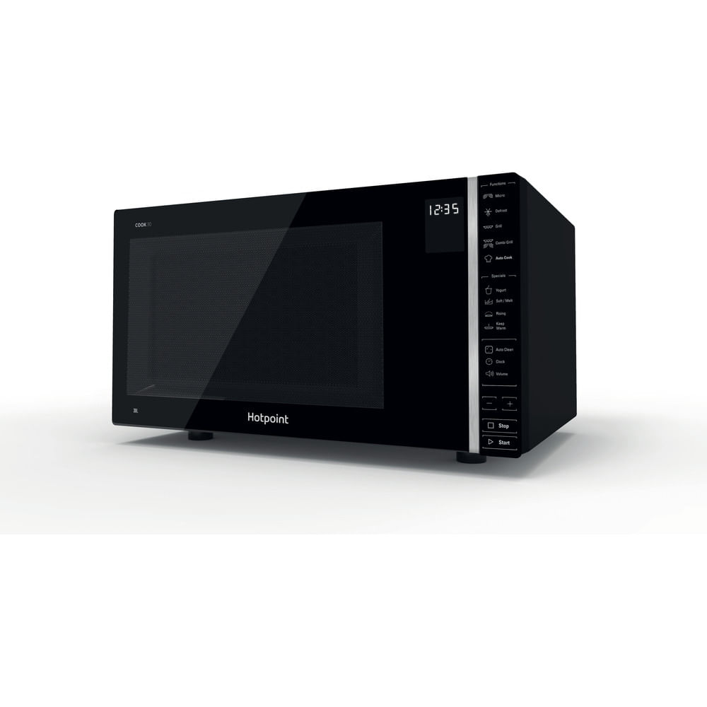 Hotpoint Freestanding Microwave oven MWH 303 B : discover the specifications of our home appliances and bring the innovation into your house and family.