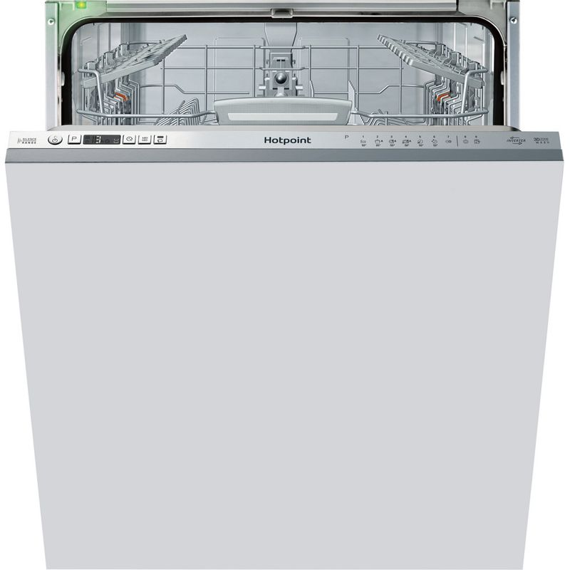 Hotpoint-Dishwasher-Built-in-HIO-3T1239-W-E-UK-Full-integrated-A---Frontal
