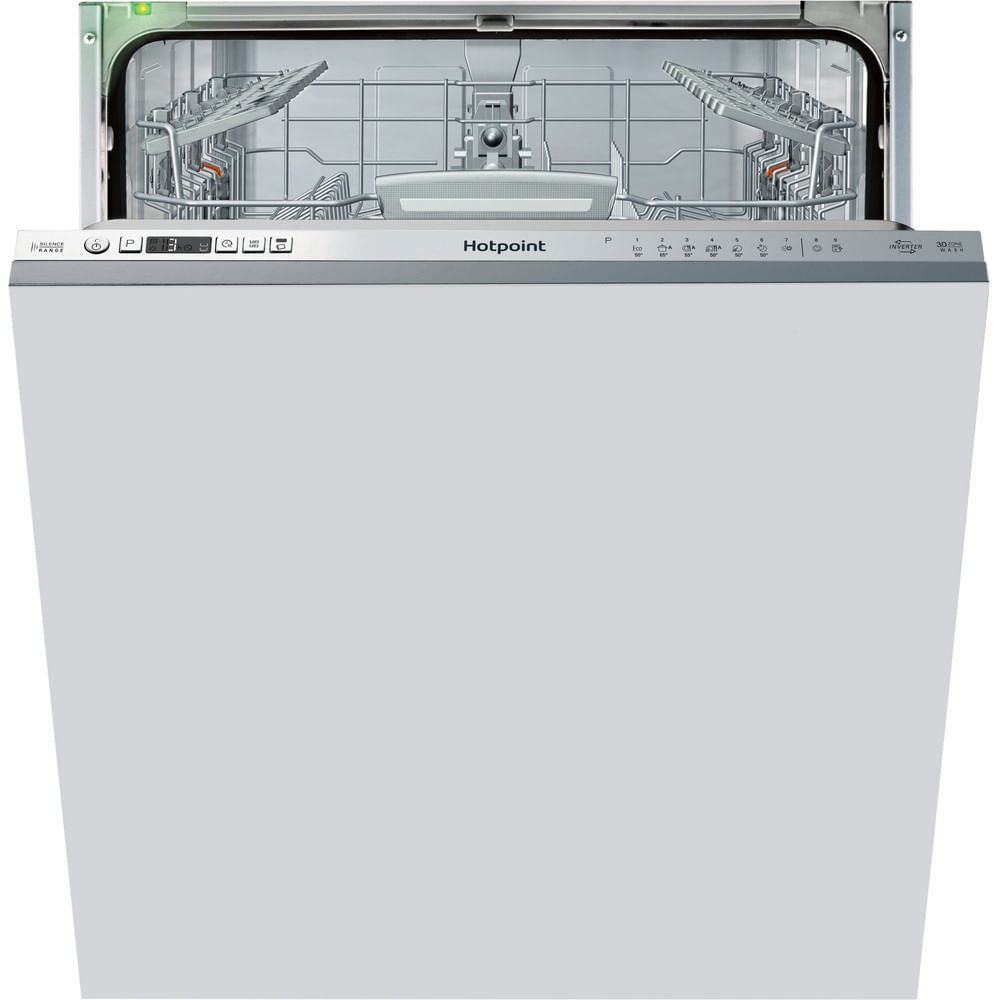 Hotpoint Integrated Dishwasher HIO 3T1239 W E UK : discover the specifications of our home appliances and bring the innovation into your house and family.