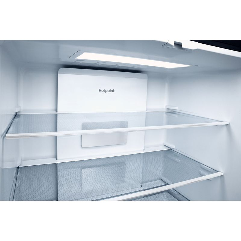 Hotpoint-Side-by-Side-Free-standing-HQ9-E1L-Inox-Look-Drawer