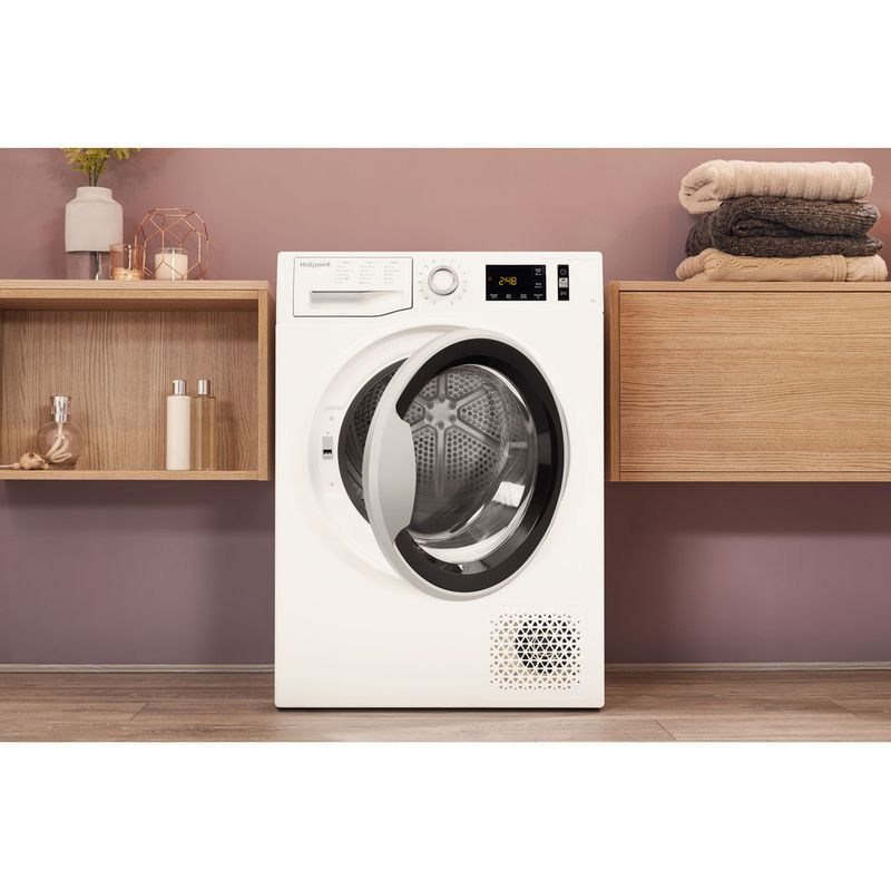 Hotpoint-Dryer-NT-M11-92XBY-UK-White-Lifestyle-frontal-open