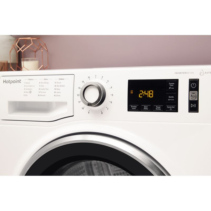 Hotpoint-Dryer-NT-M11-92XBY-UK-White-Lifestyle-control-panel
