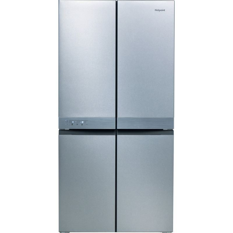 Hotpoint-Side-by-Side-Free-standing-HQ9-B1L-Inox-Look-Frontal