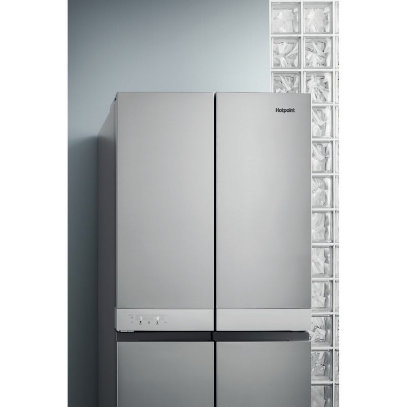 Hotpoint-Side-by-Side-Free-standing-HQ9-B1L-Inox-Look-Lifestyle_Perspective