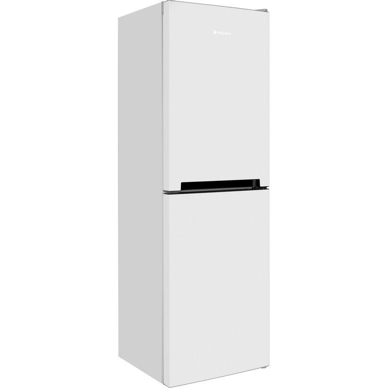 Hotpoint-Fridge-Freezer-Free-standing-DC-85-N1-W-White-2-doors-Perspective