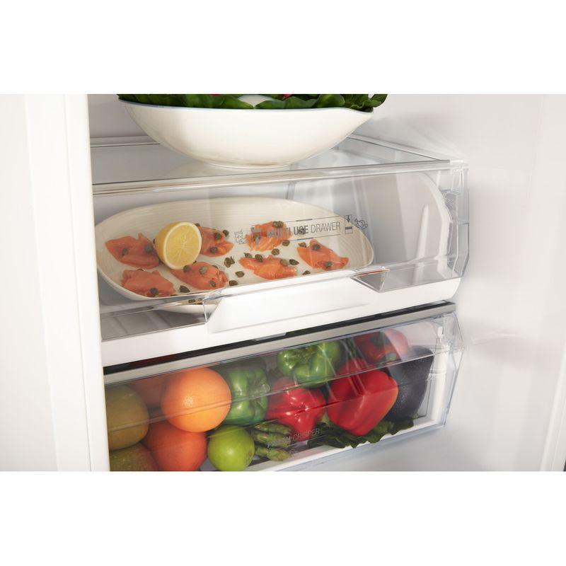 Hotpoint-Fridge-Freezer-Free-standing-TDC-95-T1I-W-White-2-doors-Drawer