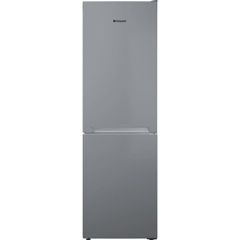 Hotpoint-Fridge-Freezer-Free-standing-TDC-95-T1I-G-Graphite-2-doors-Frontal