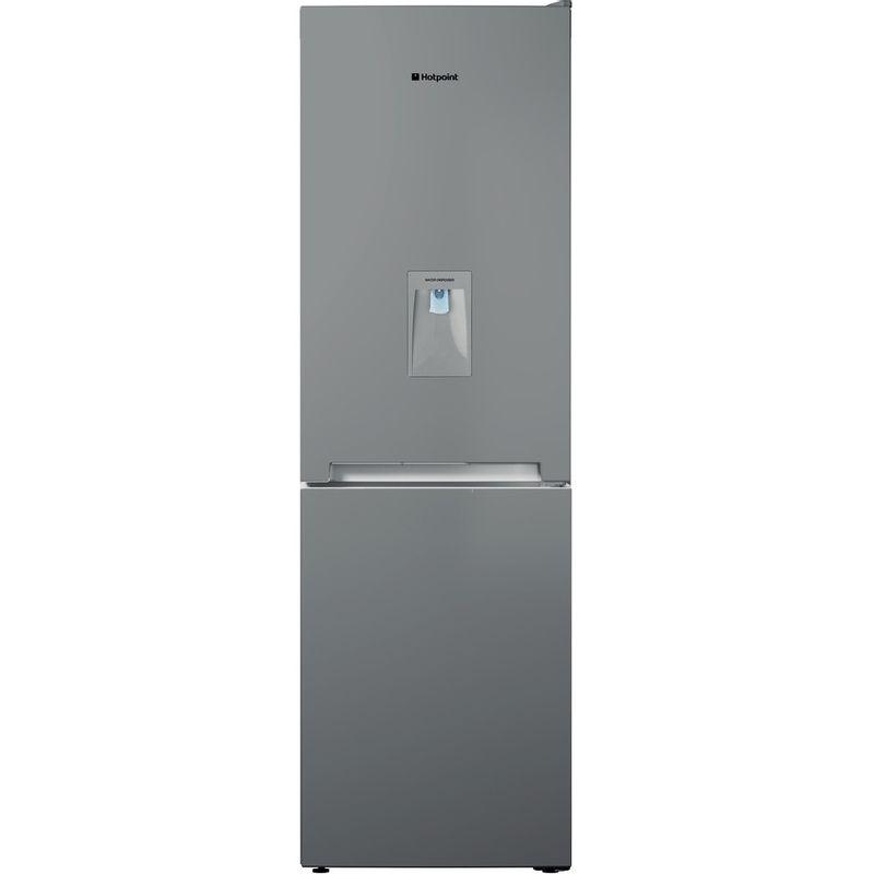 Hotpoint-Fridge-Freezer-Free-standing-TDC-85-T1I-G-WTD-Graphite-2-doors-Frontal