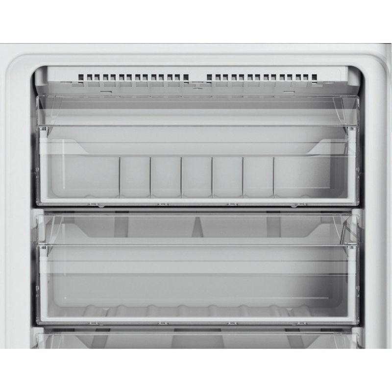 Hotpoint-Fridge-Freezer-Free-standing-DC-85-N1-W-White-2-doors-Drawer