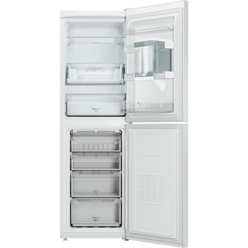 Hotpoint-Fridge-Freezer-Free-standing-DC-85-N1-W-WTD-White-2-doors-Frontal-open