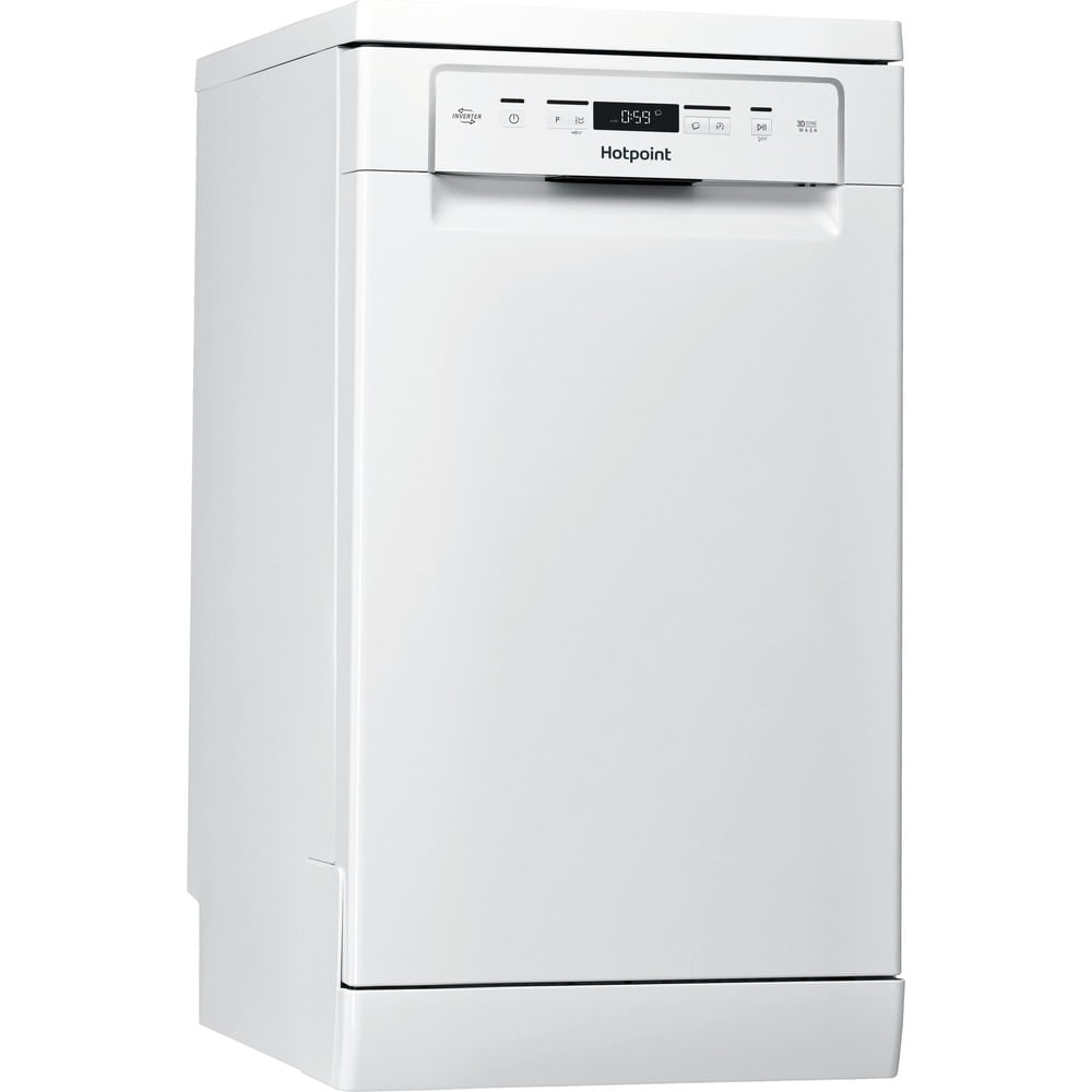 Hotpoint Freestanding Dishwasher HSFC 3M19 C UK : discover the specifications of our home appliances and bring the innovation into your house and family.