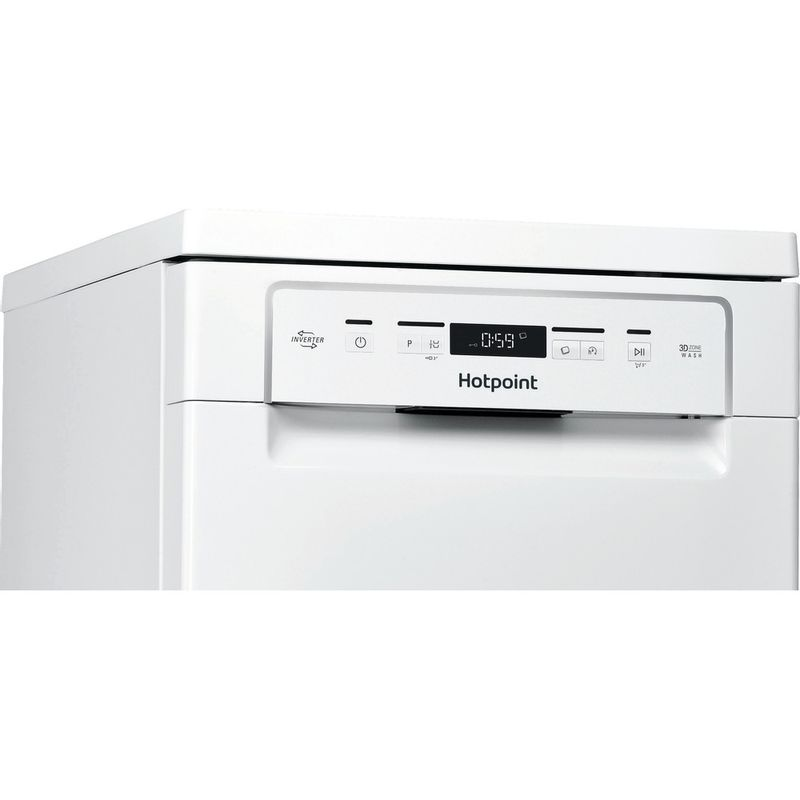 Hotpoint-Dishwasher-Free-standing-HSFC-3M19-C-UK-Free-standing-F-Control-panel