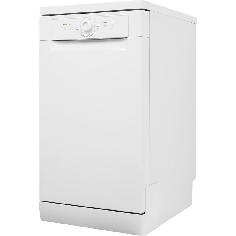 Hotpoint-Dishwasher-Free-standing-HSFE-1B19-UK-Free-standing-A--Perspective