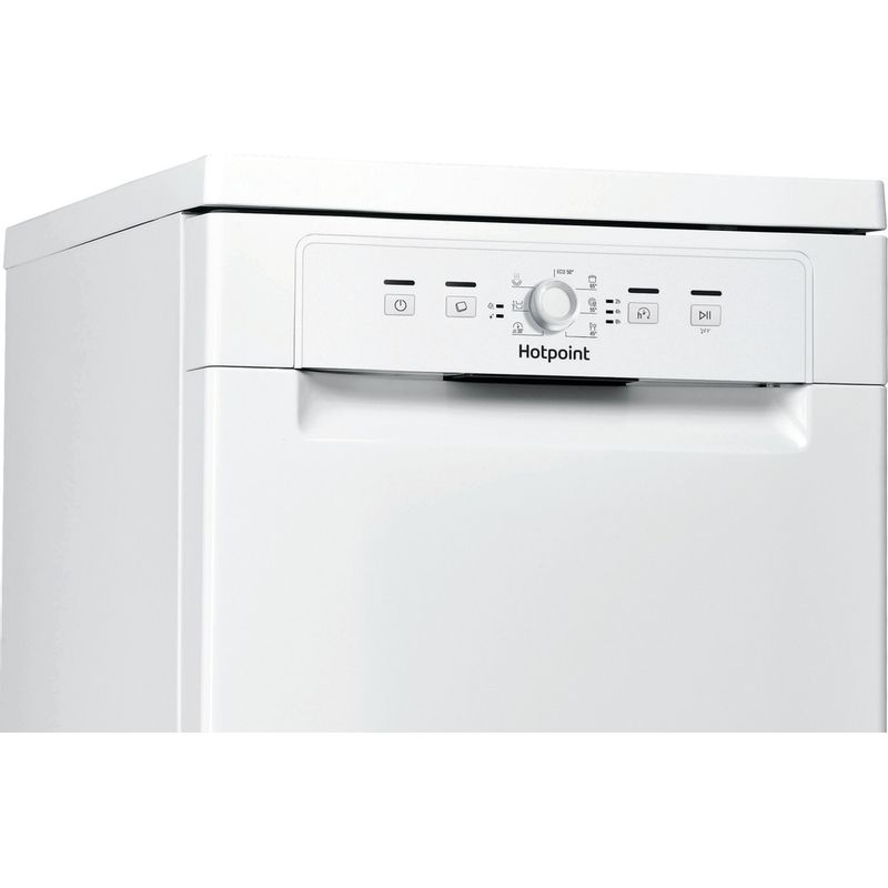 Hotpoint-Dishwasher-Free-standing-HSFE-1B19-UK-Free-standing-A--Control-panel