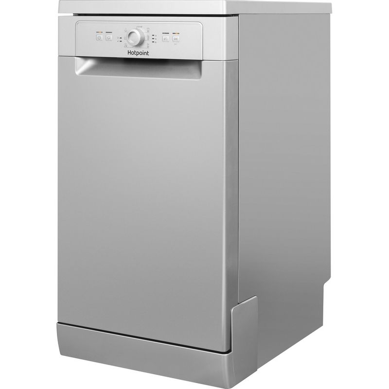 Hotpoint-Dishwasher-Free-standing-HSFE-1B19-S-UK-Free-standing-F-Perspective