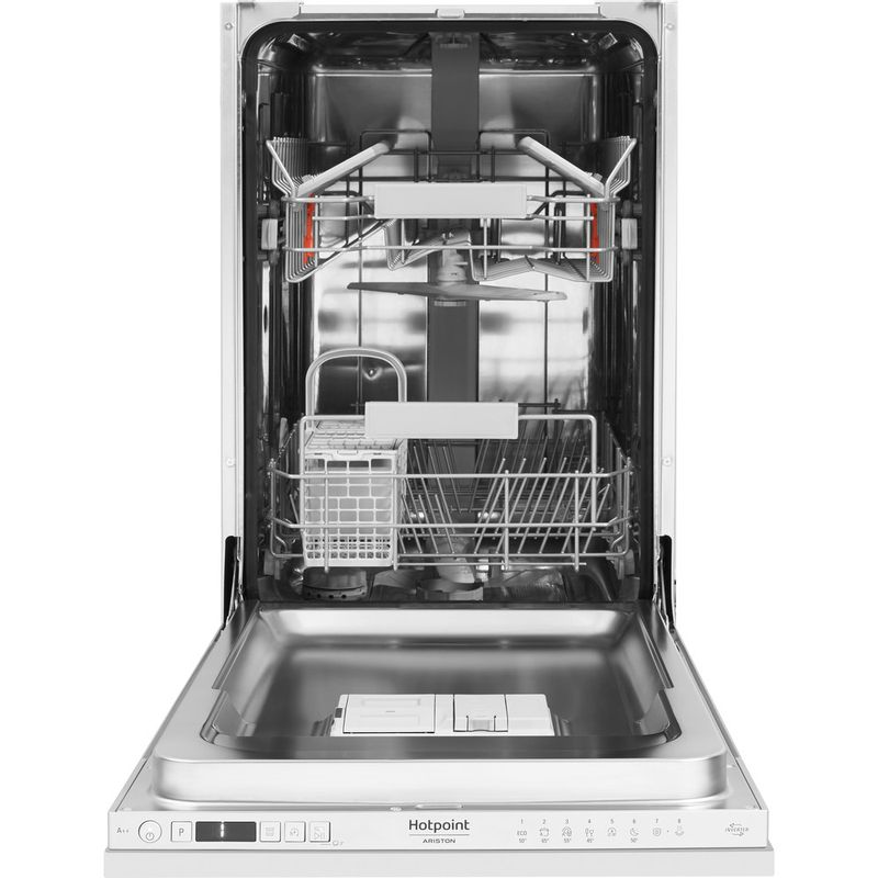 Hotpoint-Dishwasher-Built-in-HSIC-3T127-UK-Full-integrated-A---Frontal_Open