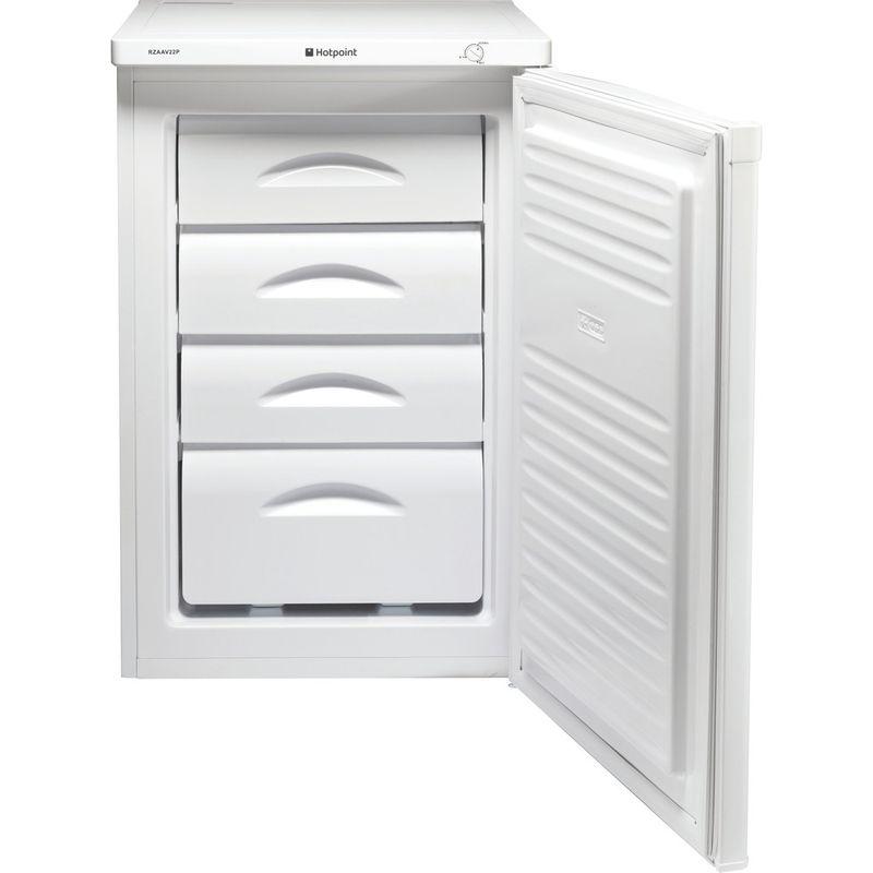 Hotpoint-Freezer-Free-standing-RZAAV22K.1.1-Black-Perspective-open