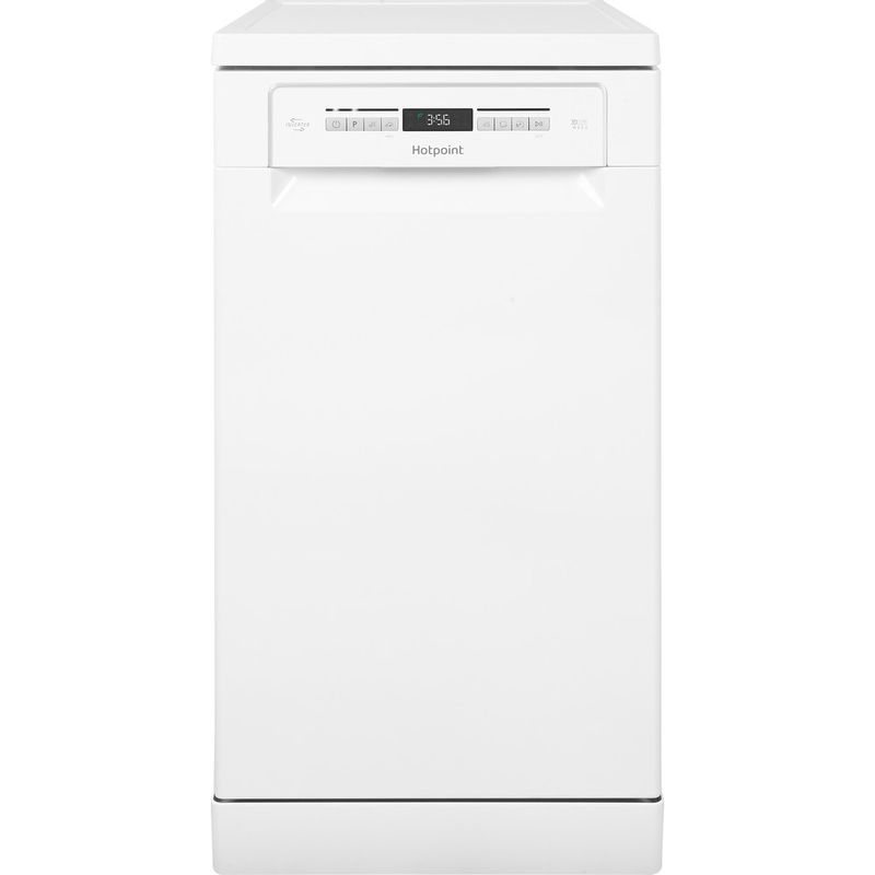 Hotpoint-Dishwasher-Free-standing-HSFO-3T223-W-UK-Free-standing-A---Frontal
