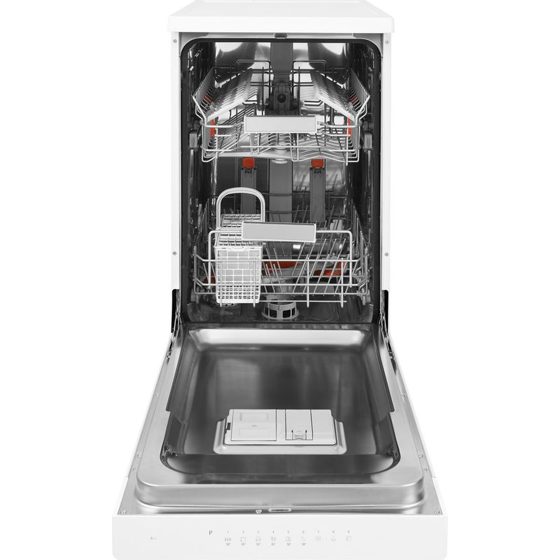 Hotpoint-Dishwasher-Free-standing-HSFO-3T223-W-UK-Free-standing-A---Frontal_Open