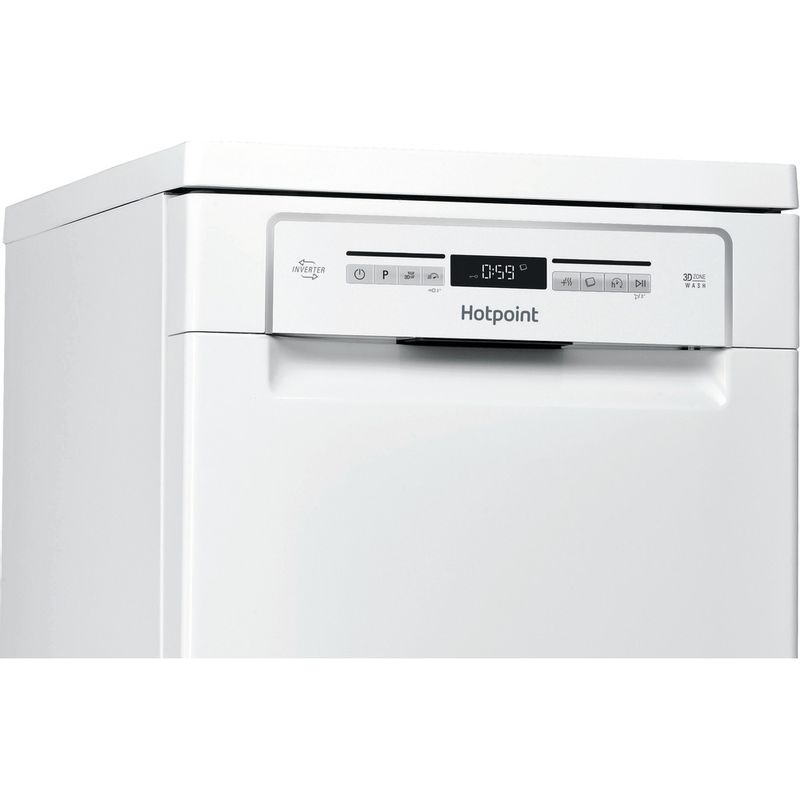 Hotpoint-Dishwasher-Free-standing-HSFO-3T223-W-UK-Free-standing-A---Control_Panel