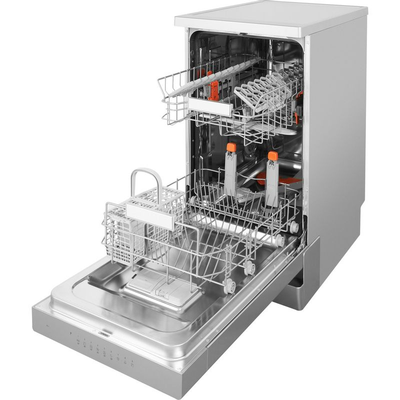 Hotpoint-Dishwasher-Free-standing-HSFO-3T223-W-X-UK-Free-standing-A---Perspective_Open