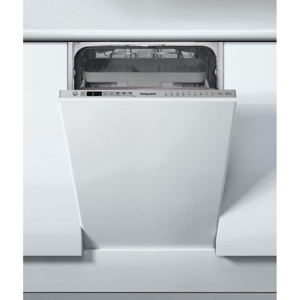 Hotpoint Integrated Dishwasher HSIO 3T223 WCE UK : discover the specifications of our home appliances and bring the innovation into your house and family.