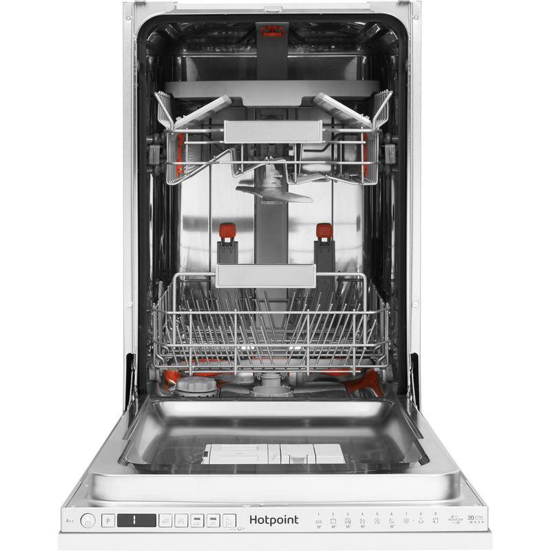 Hotpoint-Dishwasher-Built-in-HSIO-3T223-WCE-UK-Full-integrated-A---Frontal-open
