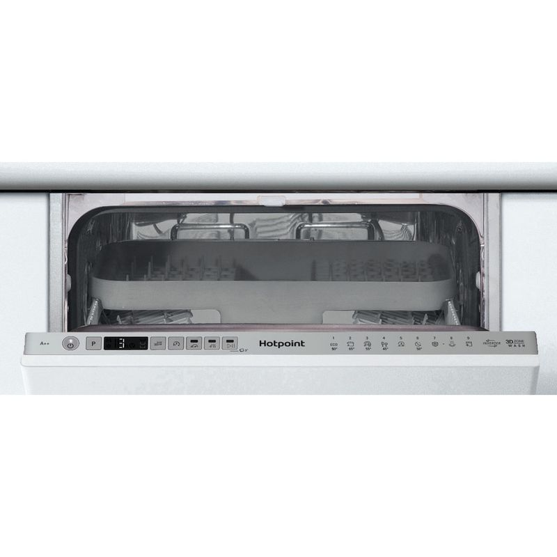 Hotpoint-Dishwasher-Built-in-HSIO-3T223-WCE-UK-Full-integrated-A---Control-panel
