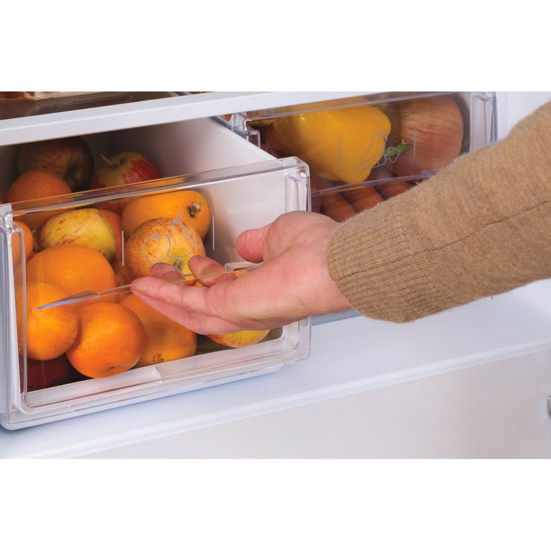 Hotpoint-Fridge-Freezer-Free-standing-HBD-5515-W-UK-White-2-doors-Drawer