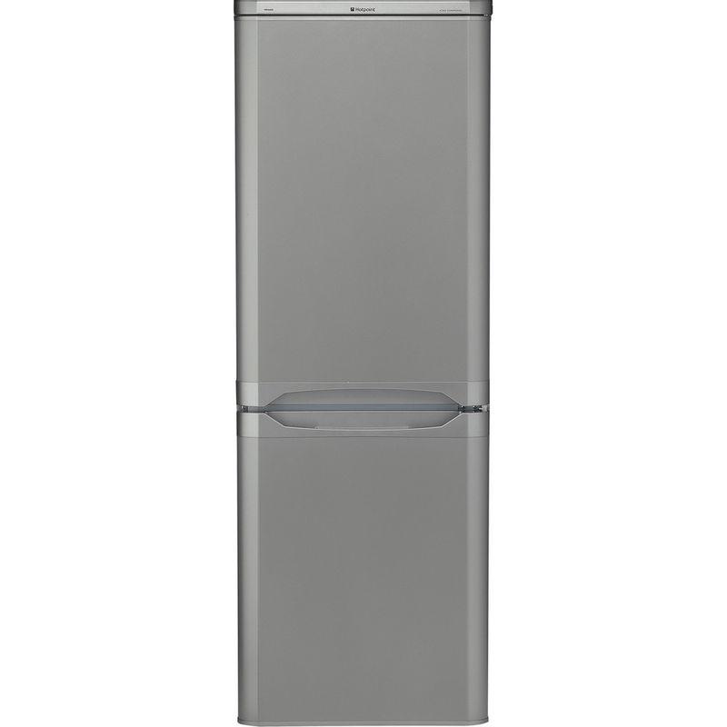 Hotpoint-Fridge-Freezer-Free-standing-HBD-5515-S-UK-Silver-2-doors-Frontal
