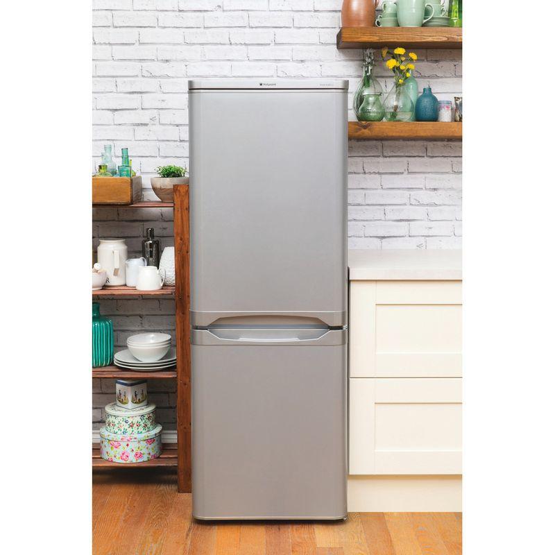 Hotpoint-Fridge-Freezer-Free-standing-HBD-5515-S-UK-Silver-2-doors-Lifestyle_Frontal