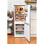 Hotpoint-Fridge-Freezer-Free-standing-HBD-5515-S-UK-Silver-2-doors-Lifestyle_Frontal_Open