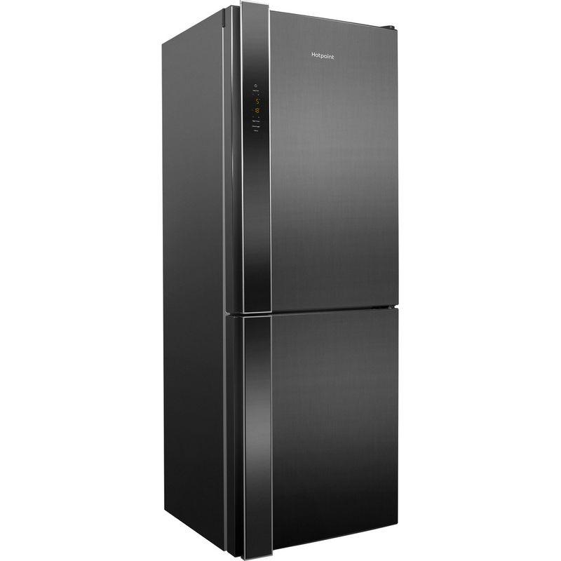 Hotpoint-Fridge-Freezer-Free-standing-XUL8-T2Z-XOV.1-Inox-2-doors-Perspective