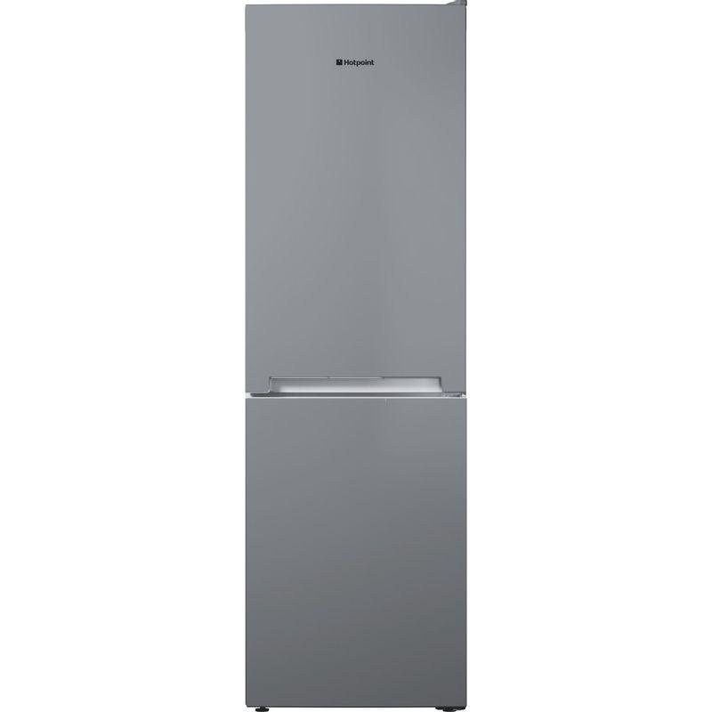 Hotpoint-Fridge-Freezer-Free-standing-TDC-85-T1I-G-Graphite-2-doors-Frontal